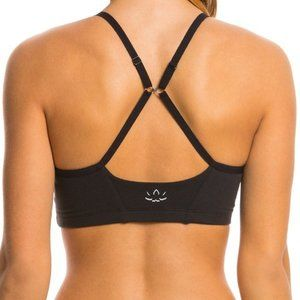 Nwt Beyond Yoga Multicross Black Bra SMALL
